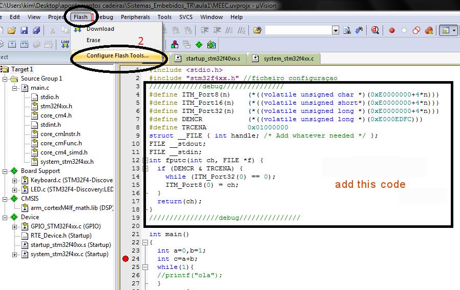 Keil MDK-ARM on STM32F4 | Techs it easy